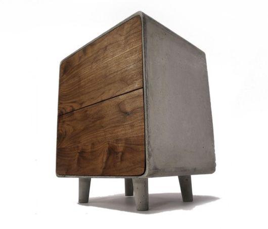 Concrete cabinet