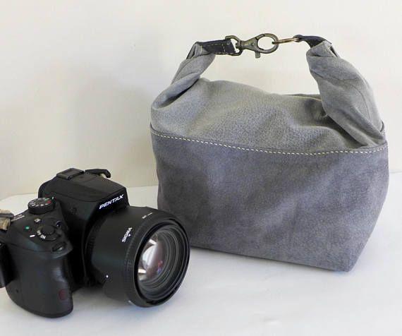 #camerabag #greybag #suedebag