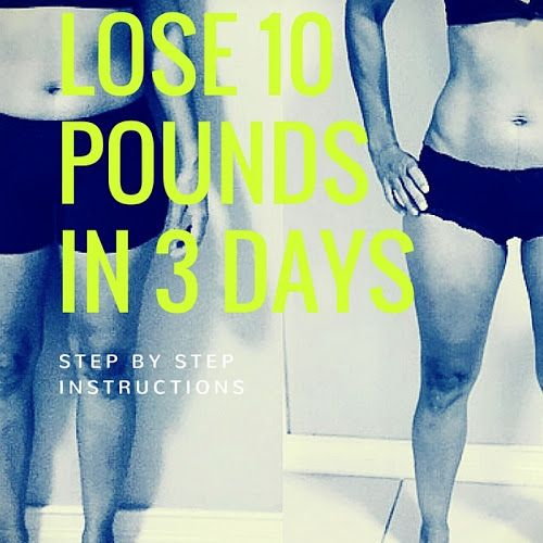 I desperately needed to lose weight for my wedding. I have lost 13 pounds on the first week, and 10 pounds on the second.