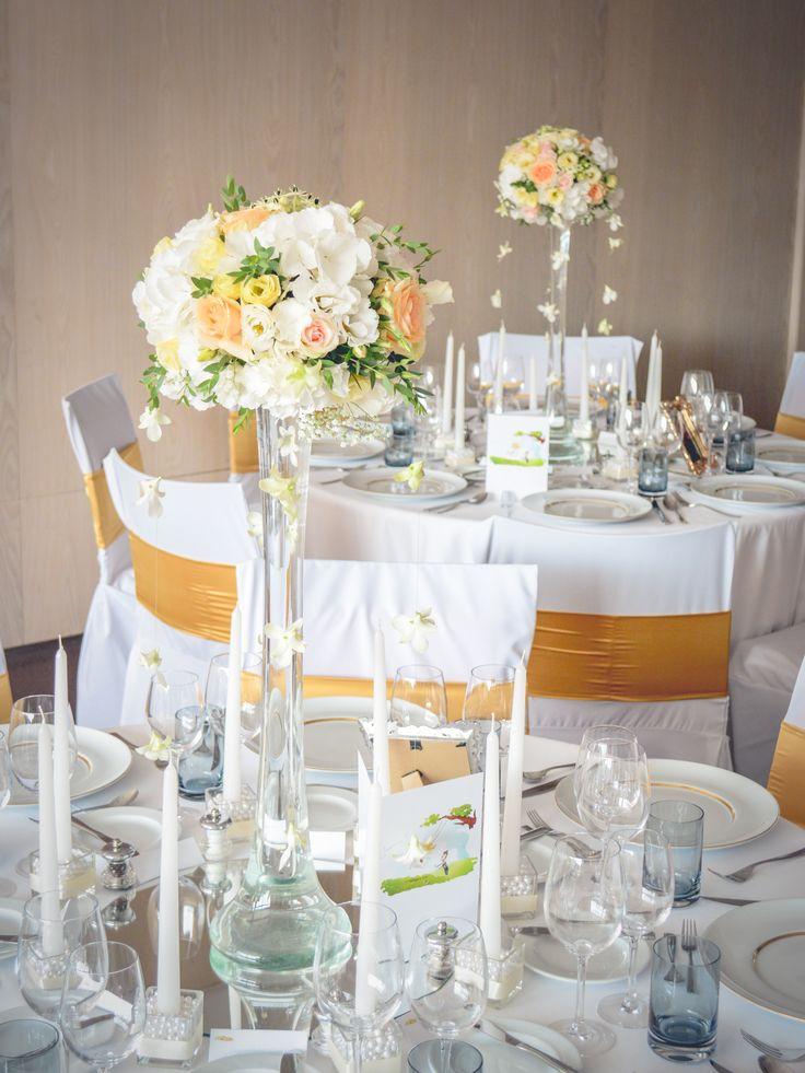 Viragdekoráció esküvőre / Wedding flower decoration