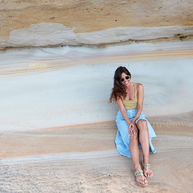 The natural beauty @mariadrig wearing h&c Stockholm tank top in moss. #hunterandchase #hunterandchaseclothing #beautiful #womensclothing #womenstyle #womensfashion #basic #basicbrand #basicfashion #fashionbrand #boutiqueshopping #australianowned #sydney #melbourne #perth#adelaide #queensland #shoponline #beachlife #beachculture #minimalove #travelbasics #travelclothes