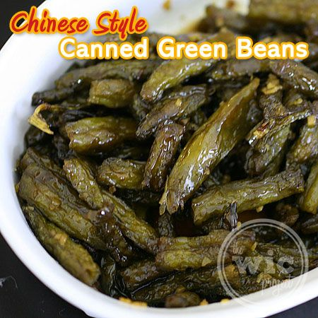 You can still make delicious food with canned veggies! Check out this easy recipe for savory Chinese Style Canned Green Beans!  http://www.wicproject.com/recipe/delicious-chinese-style-canned-green-beans/