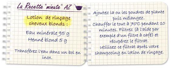 Coloration & Soin capillaireHenné blond  - Aroma-Zone
