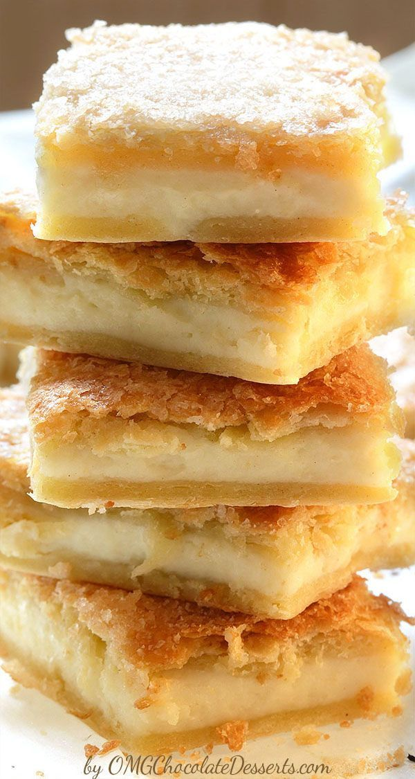 A beautiful combination of crescent rolls and cream cheese with just a little effort will become a recipe you will surely gladly come back to - Sopapilla Cheesecake Bars | #sopapilla #cheesecake #bars