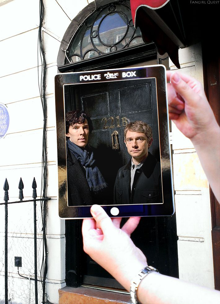 North Gower St, London from Sherlock | Two Fans Quest To Find Every Location From Every Fandom