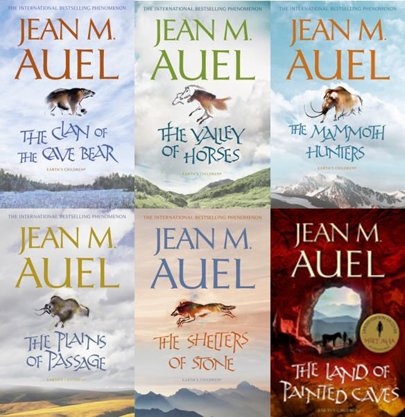 La série des enfants de la terre - Jean M. Auel - La Terre se réchauffe lentement, alors que l'homme se dégage peu à peu de la bête, maîtrise l'outil et le feu. Une fillette de 5 ans, nommée Ayla, échappe à un tremblement de terre. Elle se réfugie auprès d'un clan étranger qui l'adopte.