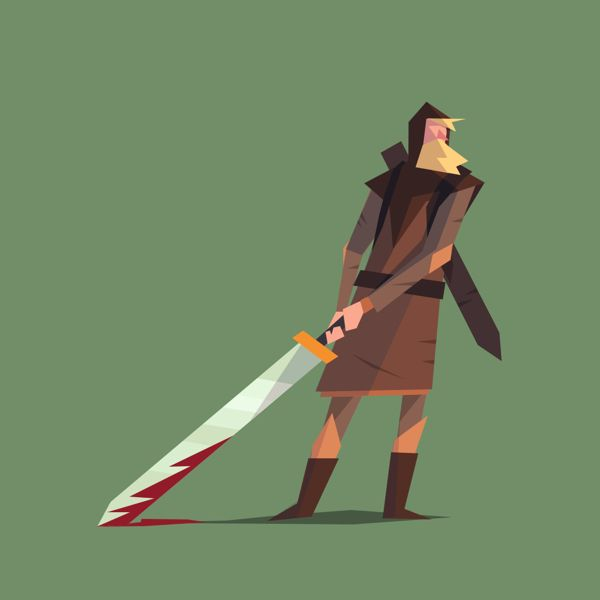 Lady of the sword on Behance - This is actually a game!