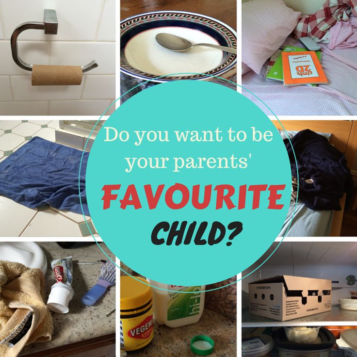 For Kids: How to Become Your Parents' Favourite Child. http://louise-allan.com/2014/11/09/for-kids-how-to-become-your-parents-favourite-child/