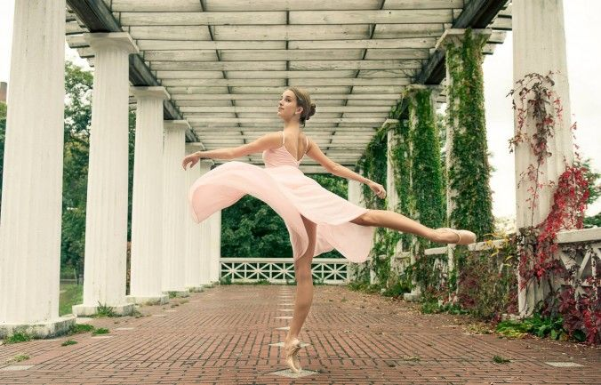 Ballerina Melissa Chapski, of Ellison Ballet. (Courtesy of Luis Pons)