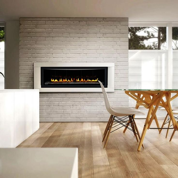 469 best linear fireplaces linear contemporary images on for Linear fireplace ideas