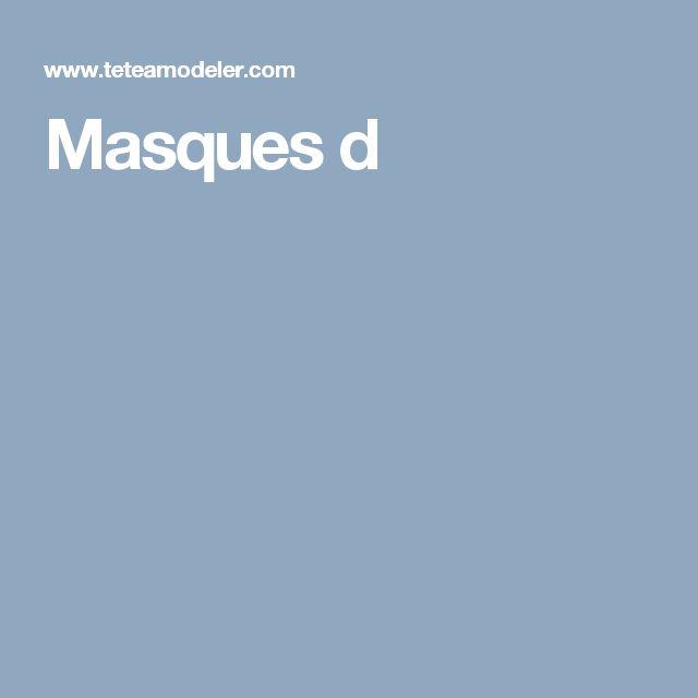 1000 id es sur le th me masque animaux sur pinterest animaux en papier masque enfant et. Black Bedroom Furniture Sets. Home Design Ideas