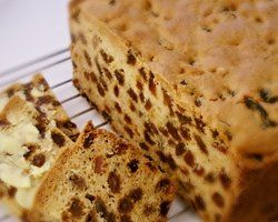 dotty sultana cake - looks easy but alot of butter