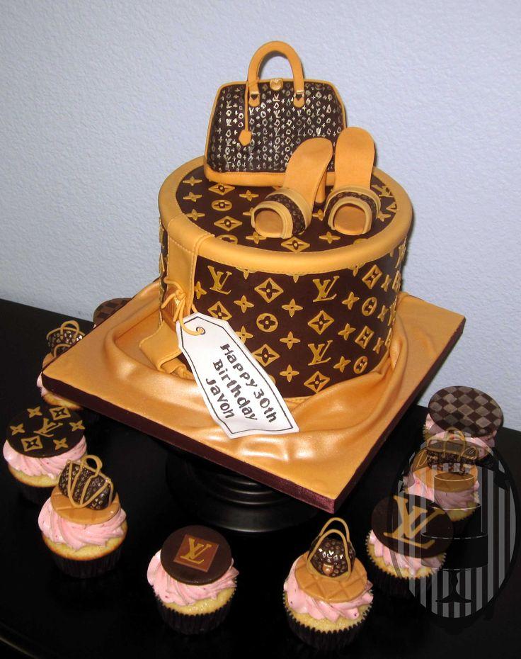 Excellent Louis Vuitton Birthday Cakes City Of Kenmore Washington Funny Birthday Cards Online Alyptdamsfinfo