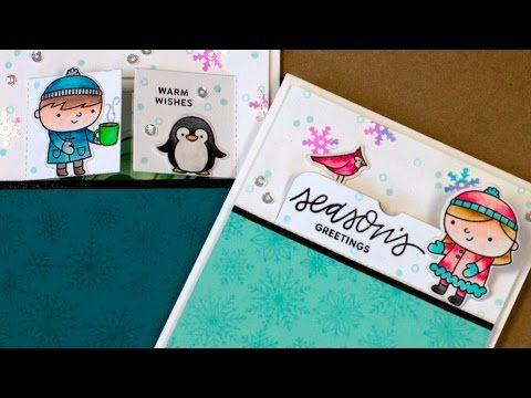 Gift Card Holders + Blog Hop + GIVEAWAYS - Jennifer McGuire Ink