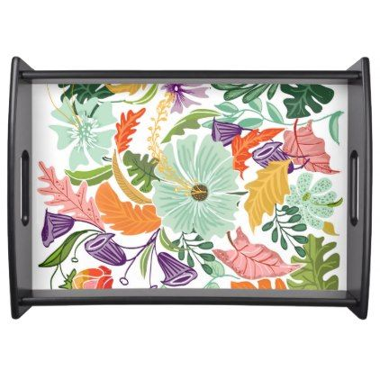 Hello Tropical Serving Tray - spring gifts beautiful diy spring time new year