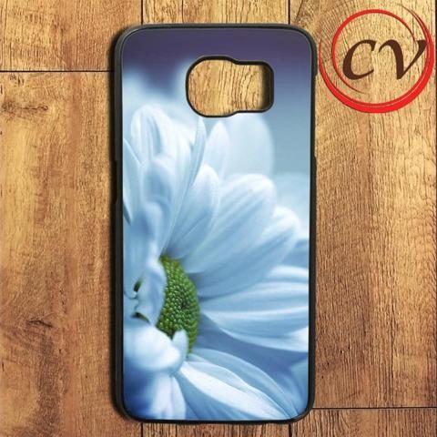 Nature Photo White Daisy Samsung Galaxy S6 Edge Plus Case