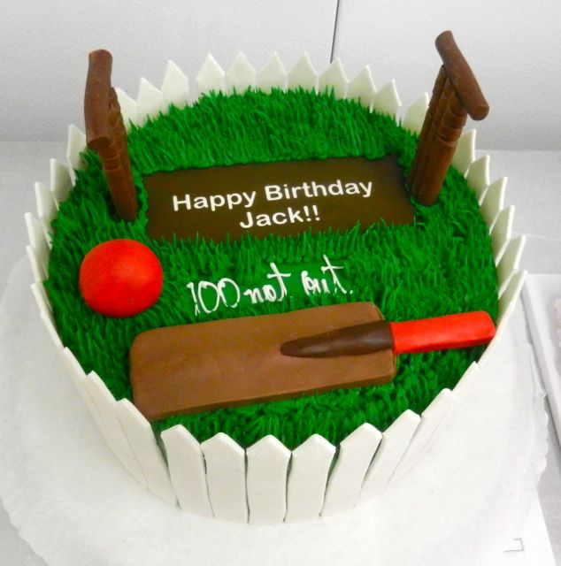 Cricket Birthday Cake Happy Pinterest