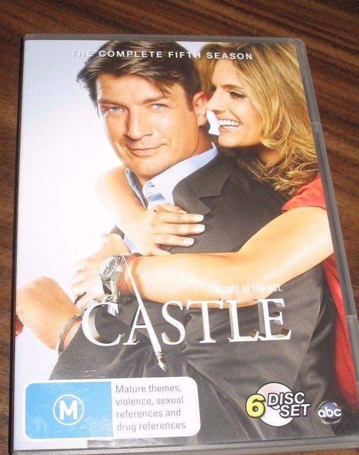 Castle - Season 5 DVD BVH The complete set 6 dvd's #Unbranded
