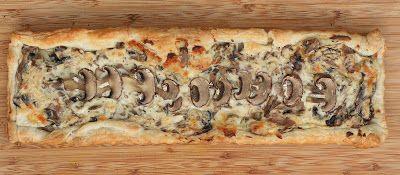 Creamy Mushroom Tart - Mmm... is for Mommy