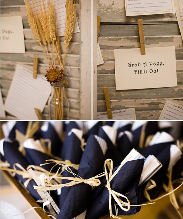 Modern Country Designs: Country Chic Bridal Shower