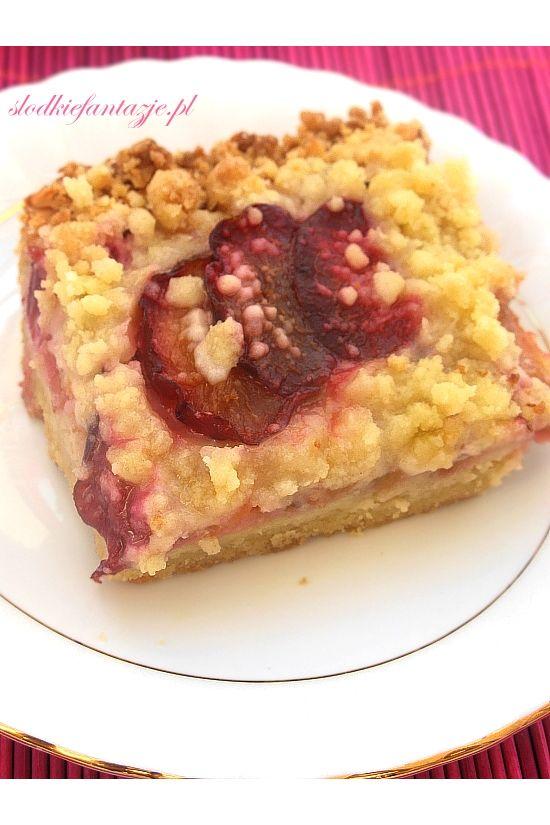 Słodkie Fantazje - Idealnie kruche ciasto ze śliwkami