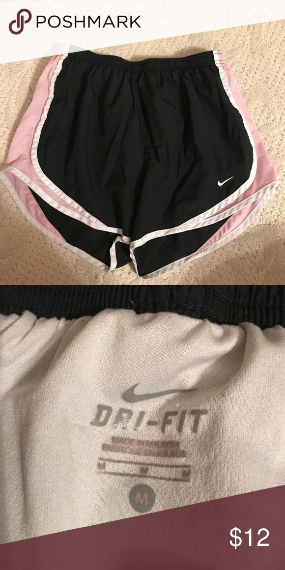 Light Pink and Black Nike Shorts Great Condition Nike Shorts