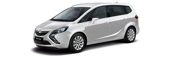 Group F - Opel Zafira: 1800cc, manual, 7 seats, 5 doors, A/C, radio, CD player