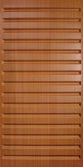 Southland Sandal Wood Ceiling Panels have long, smooth channels that add interest without inundating. This faux wood finish is warm like maple or teak.