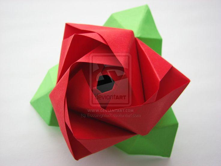 Origami_Rose_Cube_by_EccoingMark.jpg (1024×768)