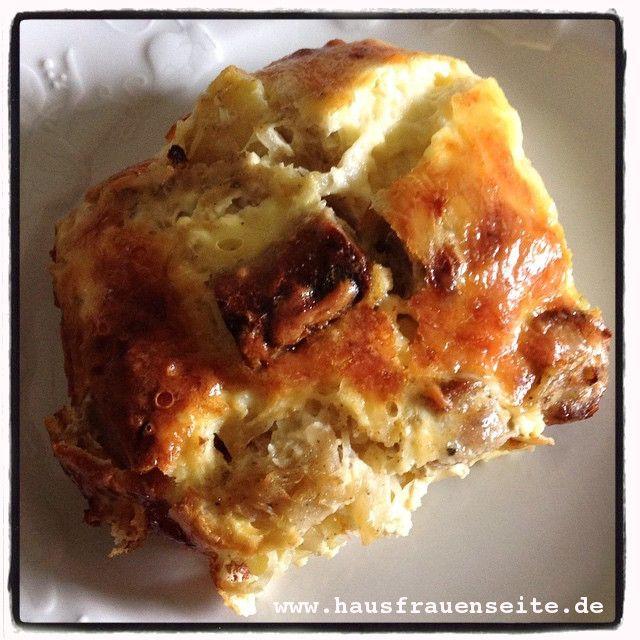 Bratwurst-Sauerkraut-Auflauf auf Instagram