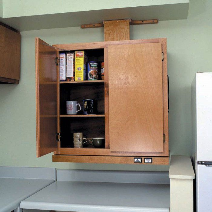 Approach Wall Cabinet Lift System - Handicap Accessible ...