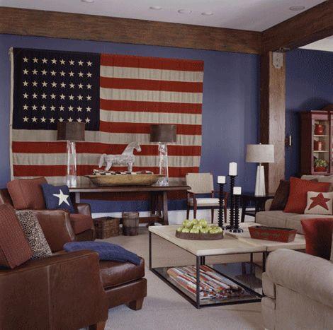 Americana living room