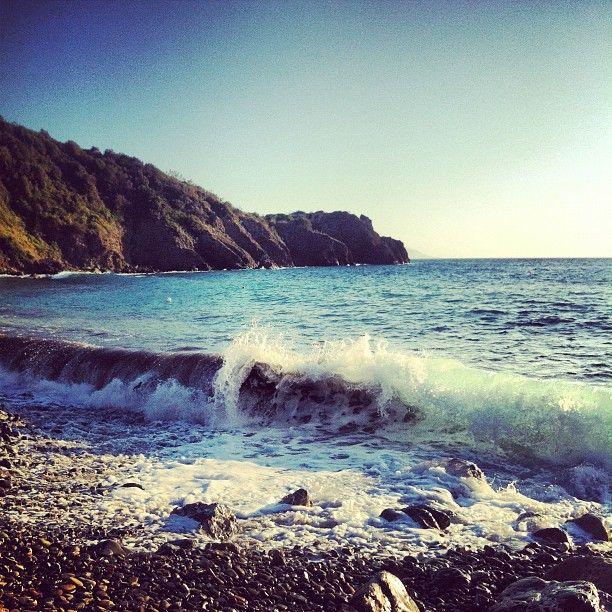 Calamoresca Beach in Piombino, Toscana