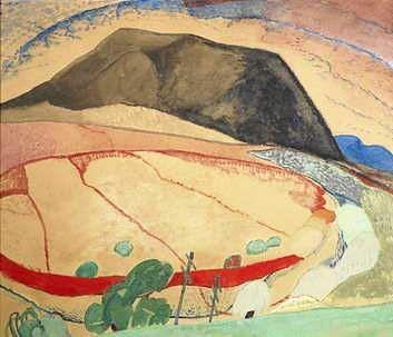 Grace Cossington Smith, Black Mountain, 1931