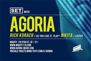 Agoria plays the US