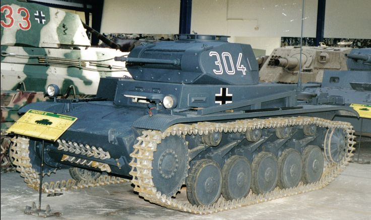 The Panzer II is the common name used for a family of German tanks used in World War II. The official German designation was Panzerkampfwagen II (abbreviated PzKpfw II).  Although the vehicle had originally been designed as a stopgap while larger, more advanced tanks were developed, it nonetheless went on to play an important role in the early years of World War II, during the Polish and French campaigns. The Panzer II was the most numerous tank in the German Panzer divisions beginning with…