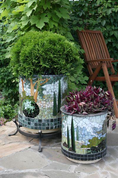 Мозаика Садовый декор                                                                                                                                                     More