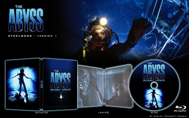 The Abyss - V2  - STEELBOOK -  Fan art