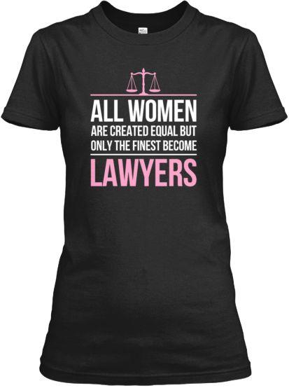 Women lawyers tee