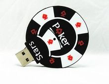 Nieuwe Stijl Poker Stars USB Flash Drives Extern geheugen opslag pendrives 32GB 16GB 8GB 4GB stick Thumbdrive Usb Card Stick (China (vasteland))