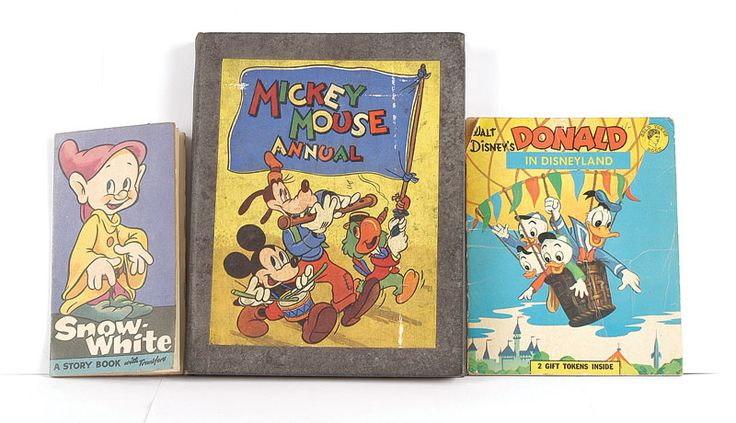 Early Walt Disney stories Mickey Mouse Snow White and Donald Duck 1947  #Vintage #Books www.newpublisherhouse.com