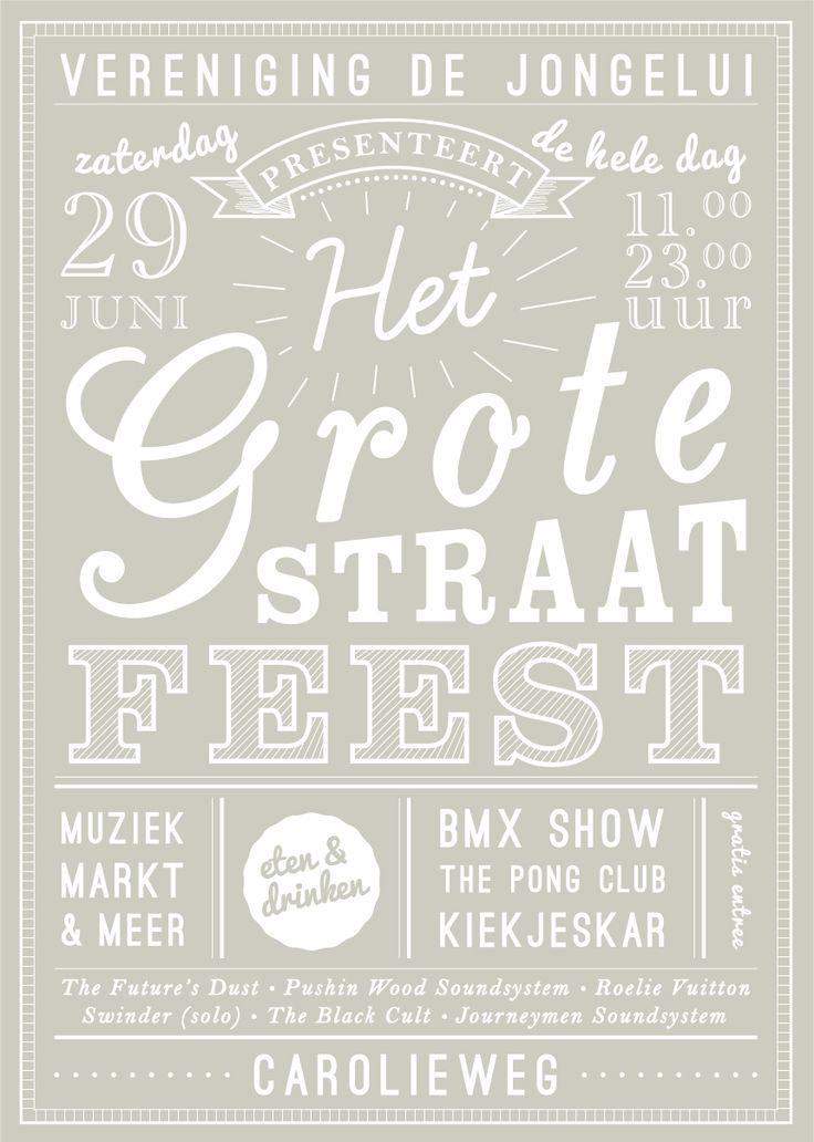 straatfeest-poster