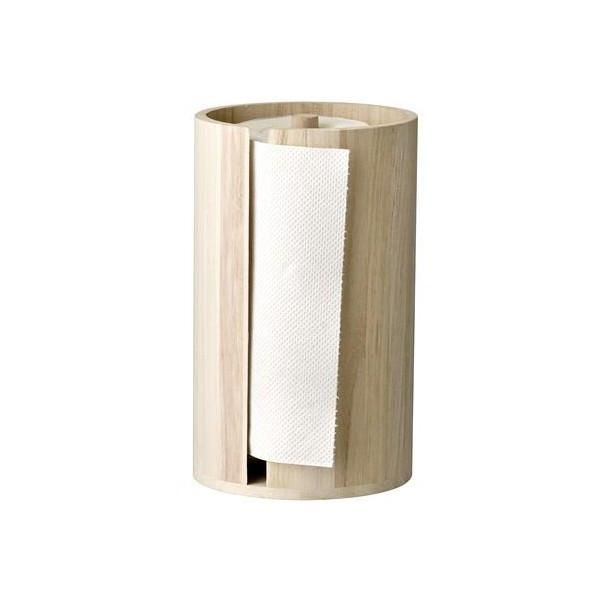Bring a dash of Scandinavian chic to the kitchen with this kitchen paper stand from Bloomingville. This beautiful kitchen paper stand has high sides which enc