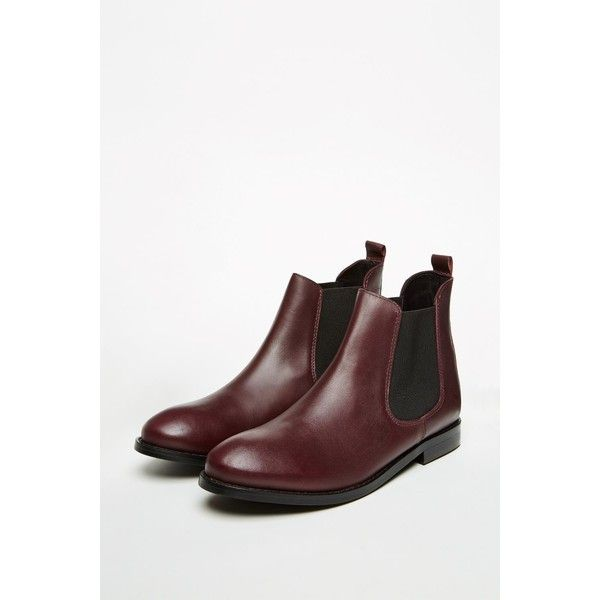 LARVIN LEATHER CHELSEA BOOTS ($75) ❤ liked on Polyvore featuring shoes, boots, leather chelsea boots, jack wills, jack wills shoes, fancy shoes and genuine leather boots