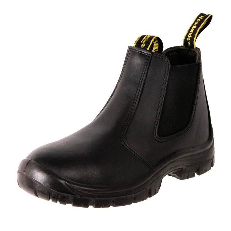 Buy men's cheap leather safety gardening safety work boots online in Australia.