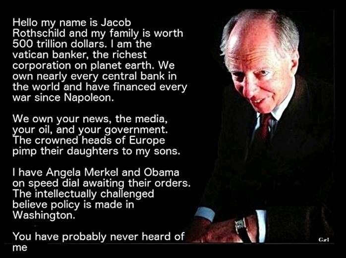 Rothschild Jacob Baron Rothschild 4th