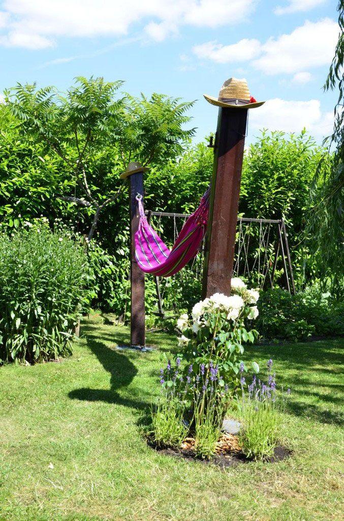 1000+ Ideen Zu Garten Hängematte Auf Pinterest | Hängematten Im ... Hangematten Mit Gestell Garten