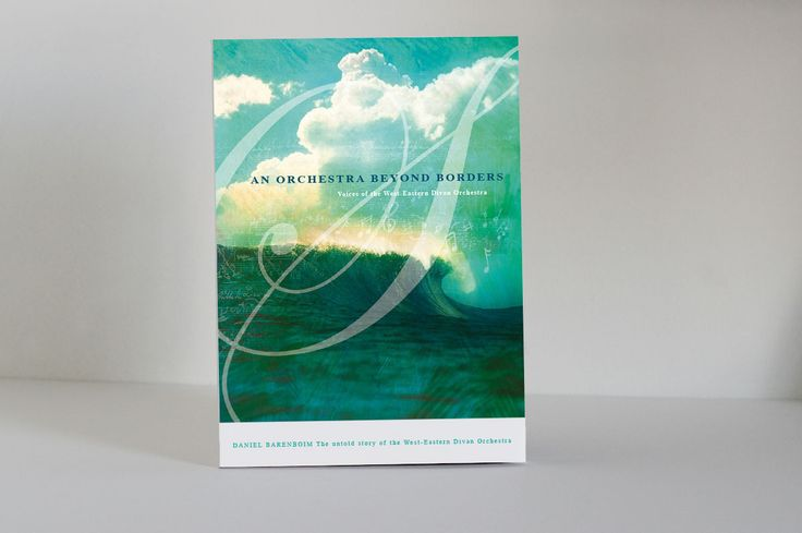 Book cover design - An Orchestra Beyond borders