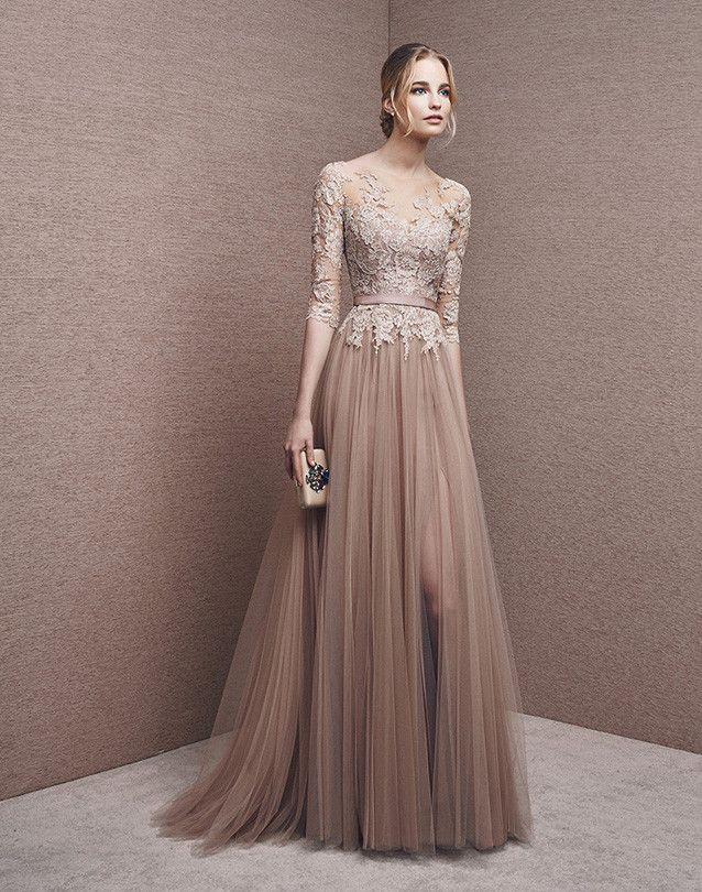 Vestido largo de la colección It´s my party by Pronovias by Pronovias | Boutique Clara