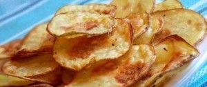 Zdravější chipsy z trouby